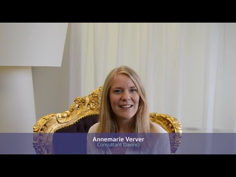 Annemarie over de Davinci Inhousedag